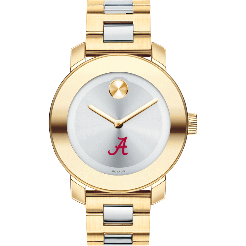 Alabama Women's Movado Two-Tone Bold