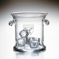 Harvard Business School Glass Ice Bucket by Simon Pearce