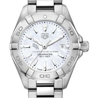 Coast Guard Academy Women's TAG Heuer Steel Aquaracer with MOP Dial