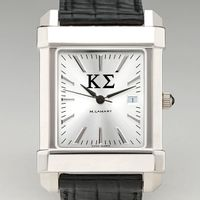 Kappa Sigma Men's Collegiate Watch with Leather Strap Image-1 Thumbnail