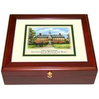 William & Mary Eglomise Mini Desk Box