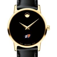 Bucknell Women's Movado Gold Museum Classic Leather