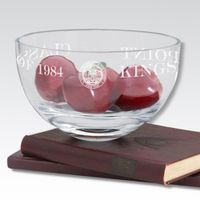 "USMMA 10"" Glass Celebration Bowl"