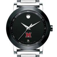 Miami University Men's Movado Museum Sport Bracelet