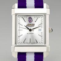 James Madison Men's Collegiate Watch w/ NATO Strap
