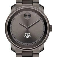 Texas A&M Men's Movado BOLD Gunmetal Grey