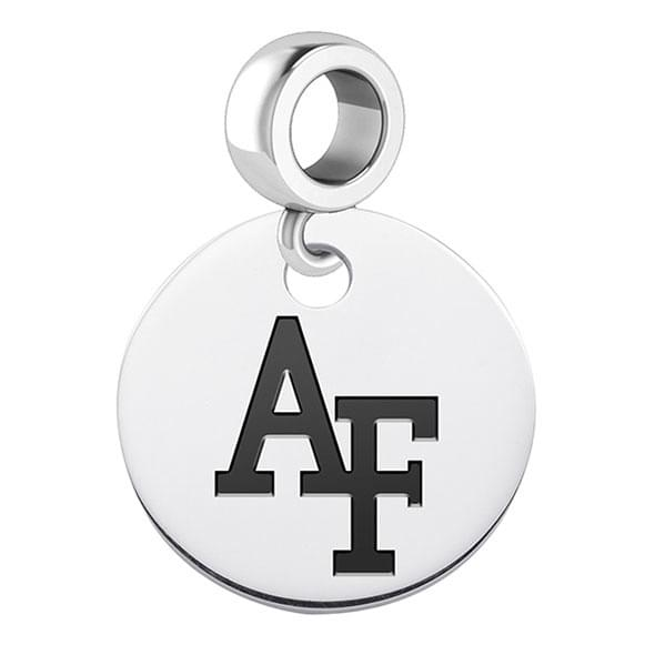 Air Force Academy Round Dangle Charm