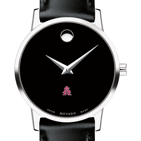 ASU Women's Movado Museum with Leather Strap