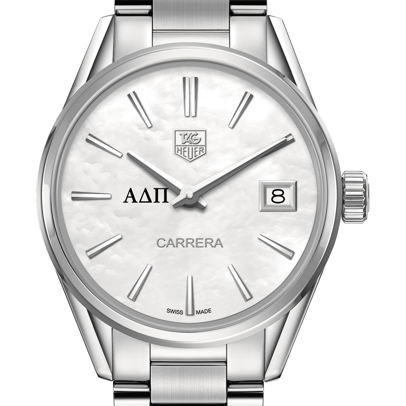 Alpha Delta Pi Women's TAG Heuer Steel Carrera with MOP Dial