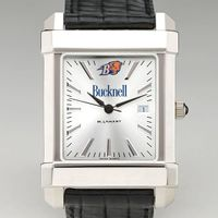 Bucknell Men's Collegiate Watch with Leather Strap