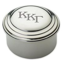 Kappa Kappa Gamma Pewter Keepsake Box