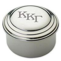 Kappa Kappa Gamma Pewter Keepsake Box Image-1 Thumbnail