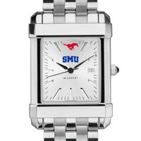 SMU Men's Collegiate Watch w/ Bracelet