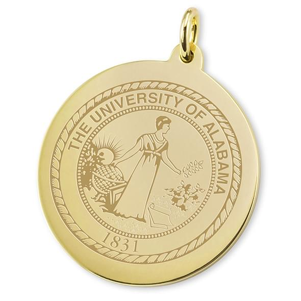 Alabama 18K Gold Charm