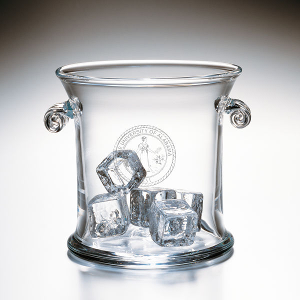 Alabama Glass Ice Bucket by Simon Pearce
