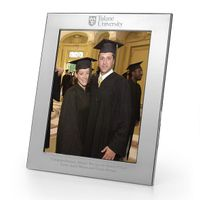 Tulane Polished Pewter 8x10 Picture Frame