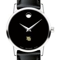 Marquette Women's Movado Museum with Leather Strap