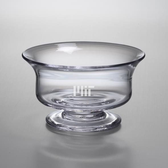 MIT Medium Glass Presentation Bowl by Simon Pearce