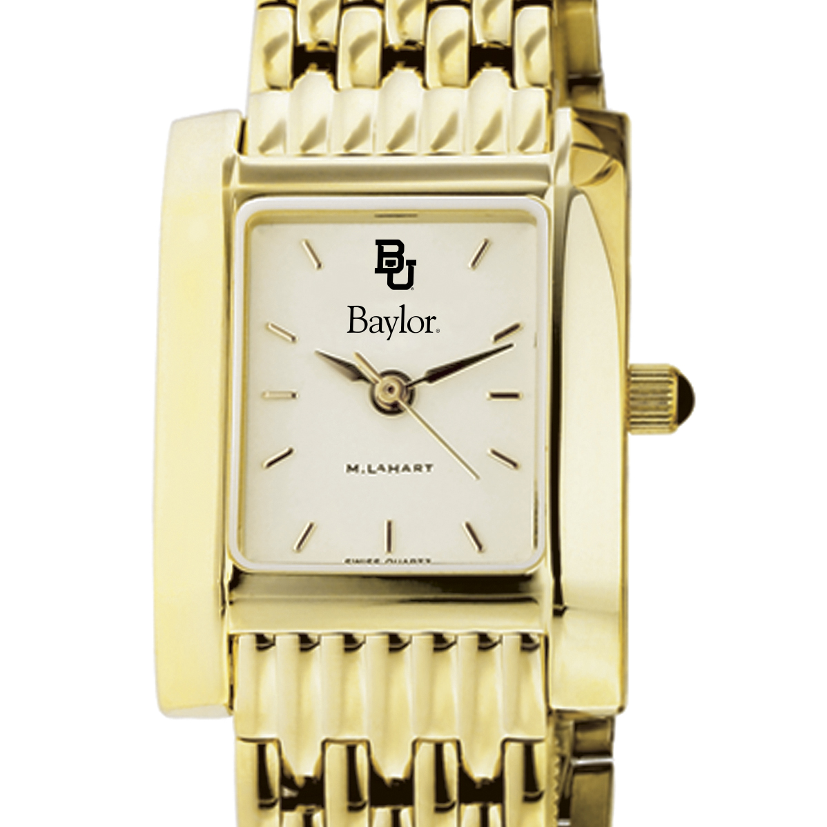 Baylor Women's Gold Quad with Bracelet