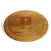 NYU Round Bread Server