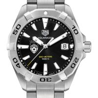 Lehigh Men's TAG Heuer Steel Aquaracer with Black Dial
