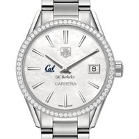 Berkeley Women's TAG Heuer Steel Carrera with MOP Dial & Diamond Bezel