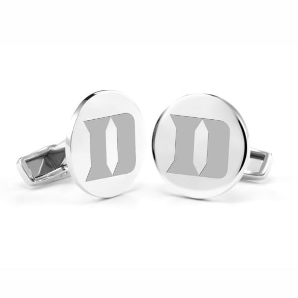 Duke Sterling Silver Cufflinks