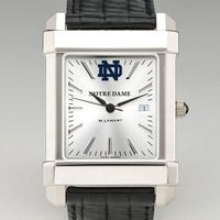 Notre Dame Men's Collegiate Watch with Leather Strap