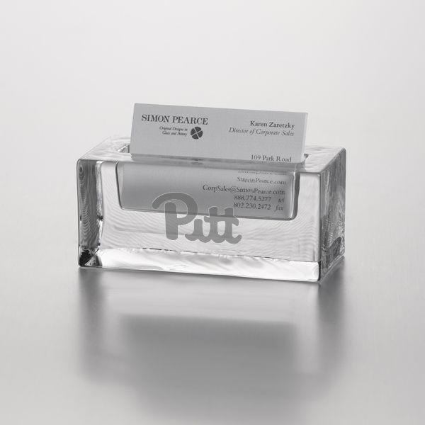 Pitt Glass Business Cardholder by Simon Pearce