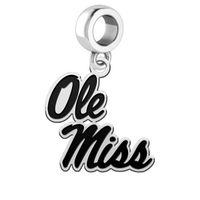 Ole Miss Cut Out Dangle Charm