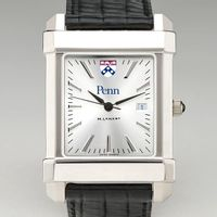 Penn Men's Collegiate Watch with Leather Strap