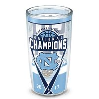 University of North Carolina 16 oz. Tervis Tumblers - Set of 4- Championship Edition