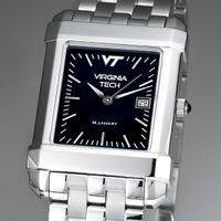 Virginia Tech Men's Black Quad Watch with Bracelet