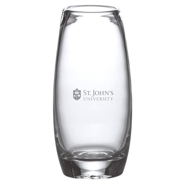 St. John's Glass Addison Vase by Simon Pearce