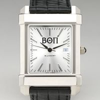 Beta Theta Pi Men's Collegiate Watch with Leather Strap Image-1 Thumbnail