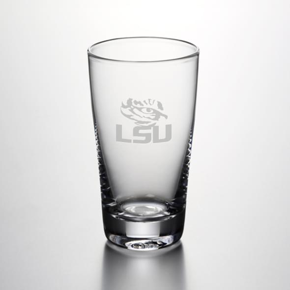 LSU Pint Glass by Simon Pearce