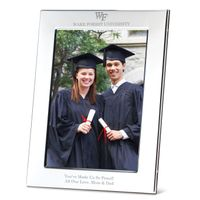 Wake Forest Polished Pewter 5x7 Picture Frame
