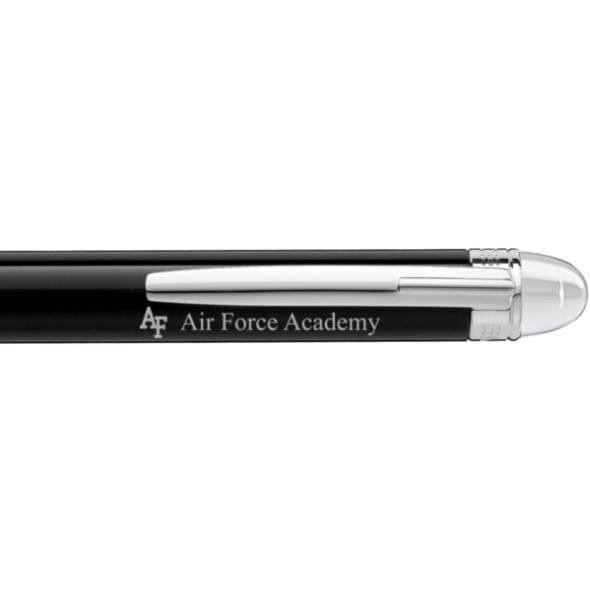 US Air Force Academy Montblanc StarWalker Doue Ballpoint Pen in Platinum