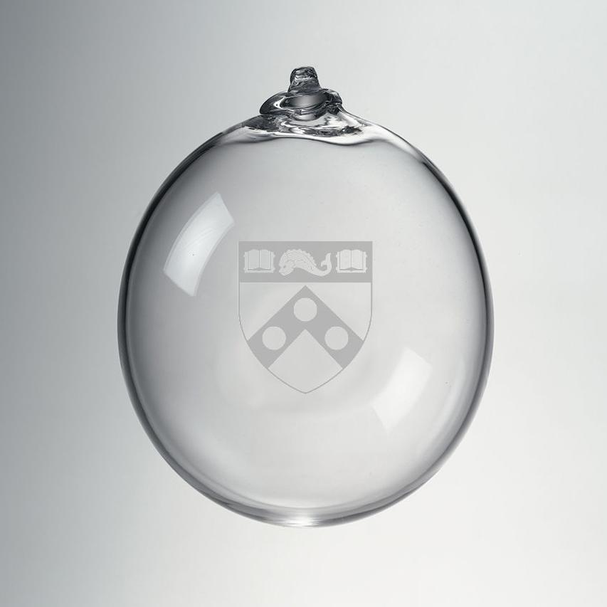 Penn Glass Ornament by Simon Pearce