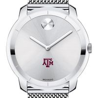 Texas A&M Men's Movado Stainless Bold 44