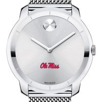 Ole Miss Men's Movado Stainless Bold 44