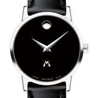 VMI Women's Movado Museum with Leather Strap
