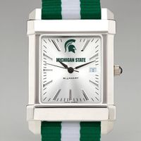 Michigan State Men's Collegiate Watch w/ NATO Strap
