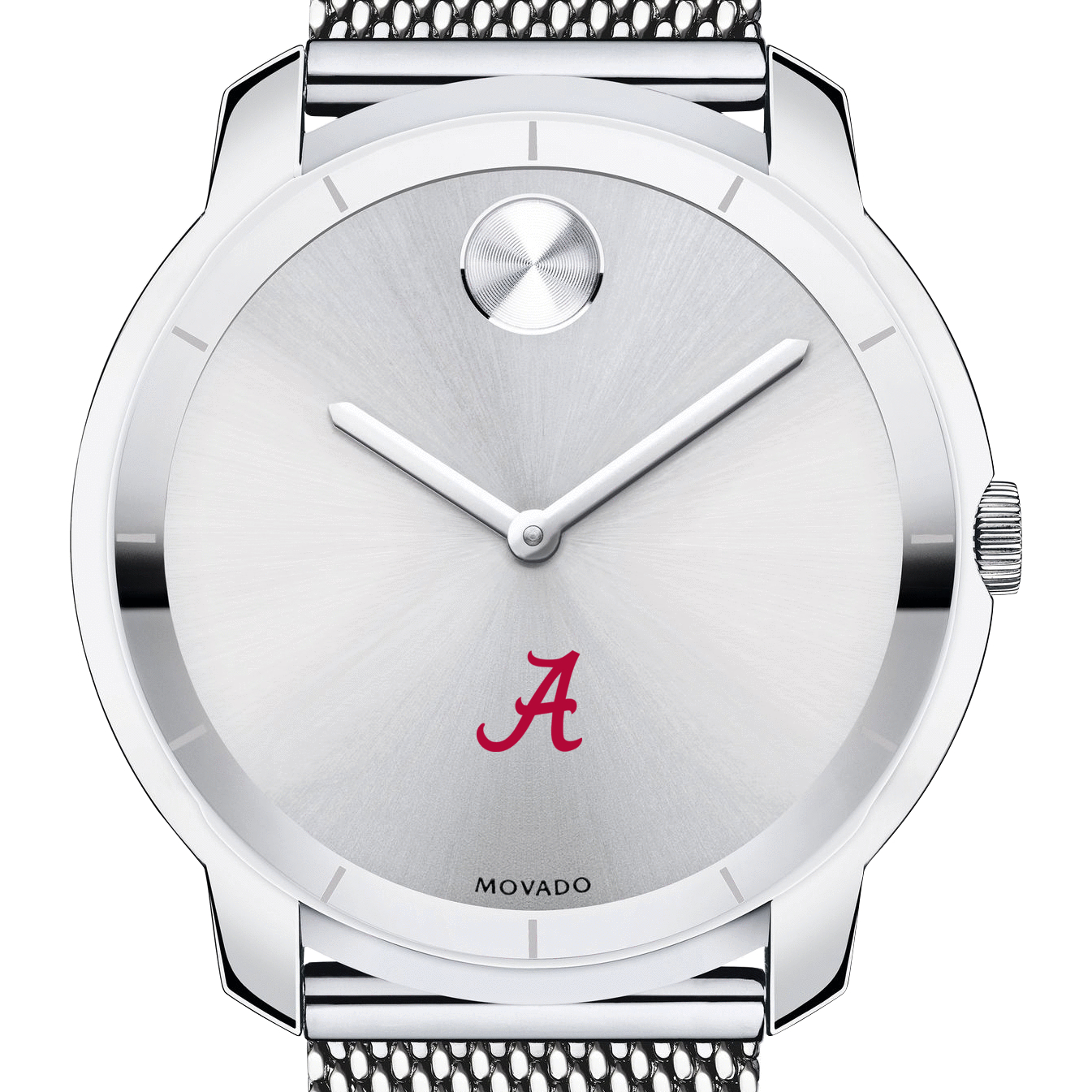 Alabama Men's Movado Stainless Bold 44