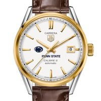 Penn State Men's TAG Heuer Two-Tone Carrera with Strap