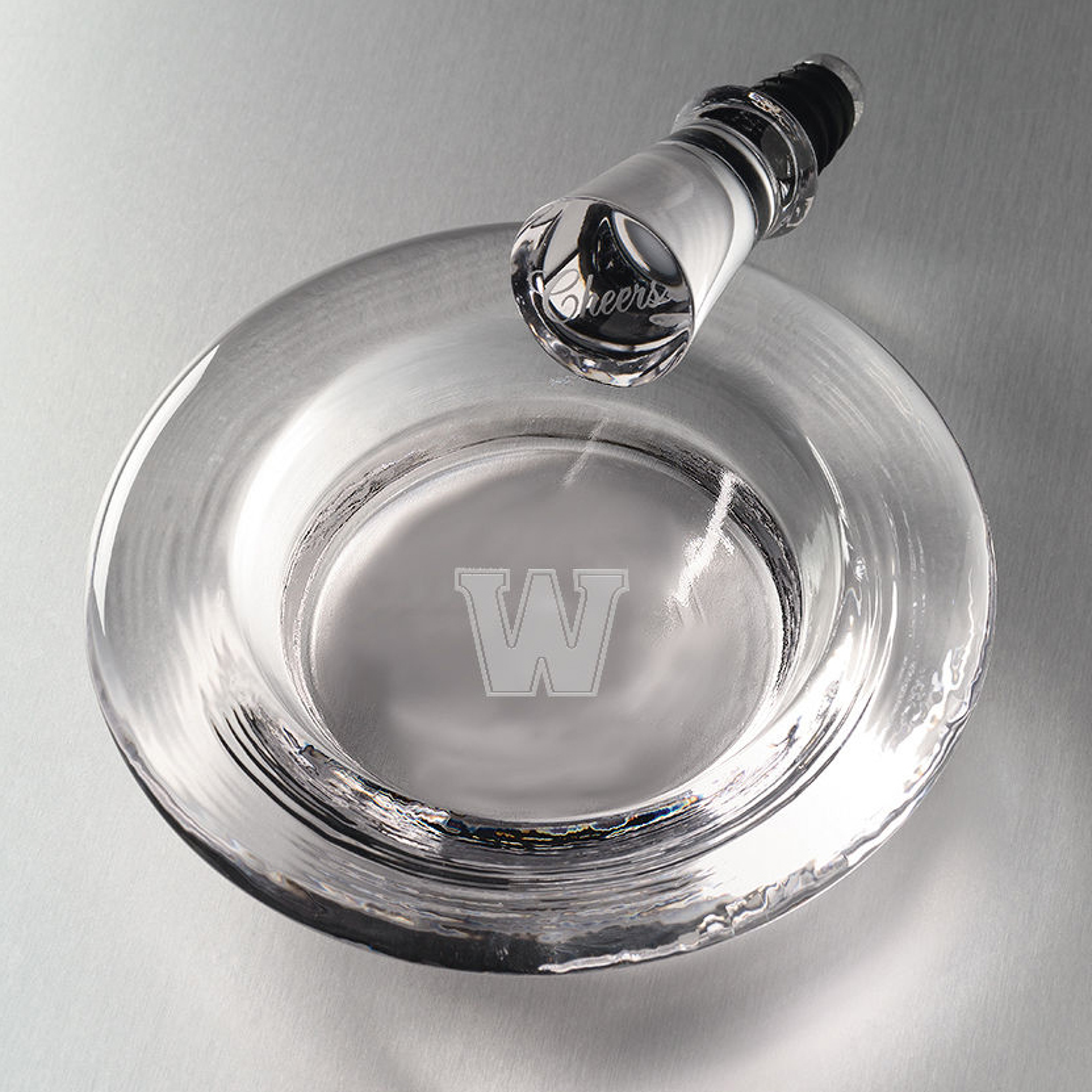 Williams Glass Wine Coaster by Simon Pearce