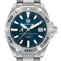 Alabama Men's TAG Heuer Steel Aquaracer with Blue Dial