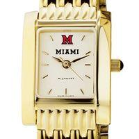Miami University Women's Gold Quad with Bracelet