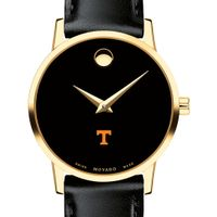 Tennessee Women's Movado Gold Museum Classic Leather