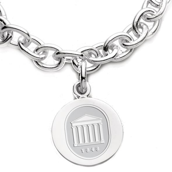 Ole Miss Sterling Silver Charm Bracelet Image-2